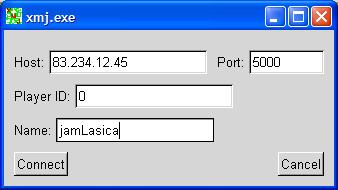 Łączenie z serwerem